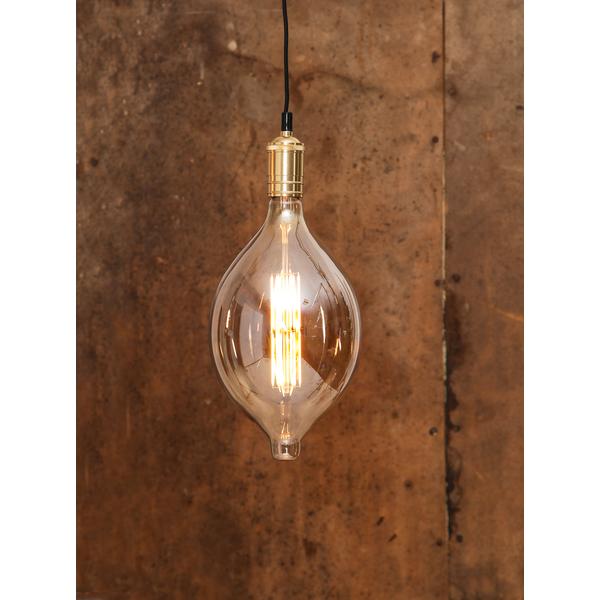 Decoration Filament LED Alien-Lamp 10W Glaskörper amber E27- BT180
