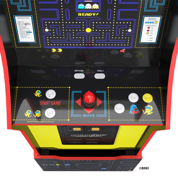 Arcade1Up Bandai Namco Legacy Edition mit Standfuss