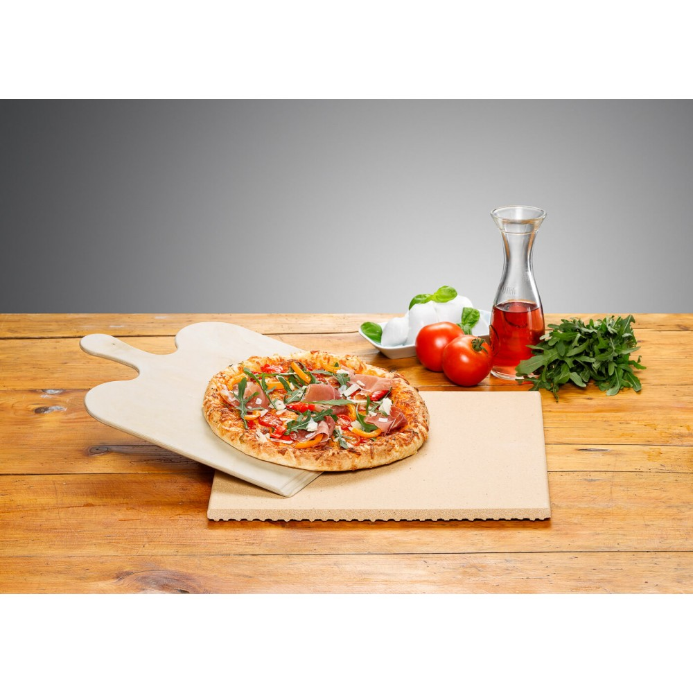 Pizza-/Brotbackstein Set PS 16