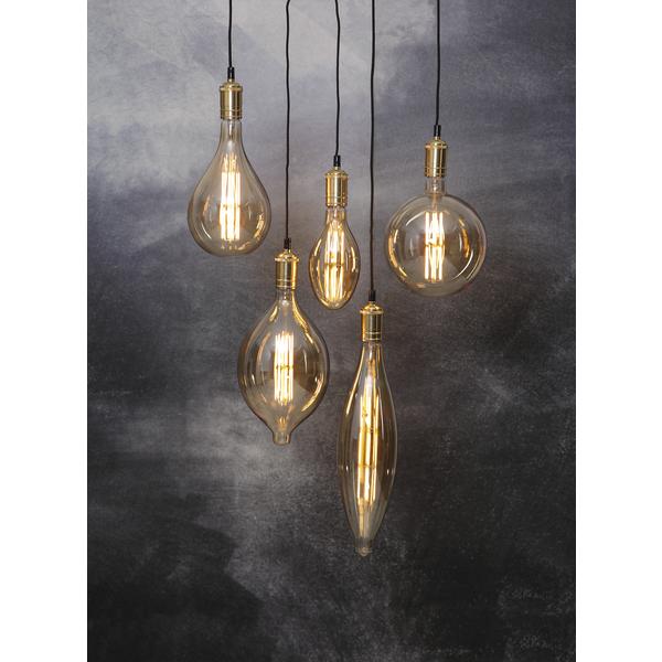 Decoration Filament LED Alien-Lamp 10W Glaskörper amber E27 - A165