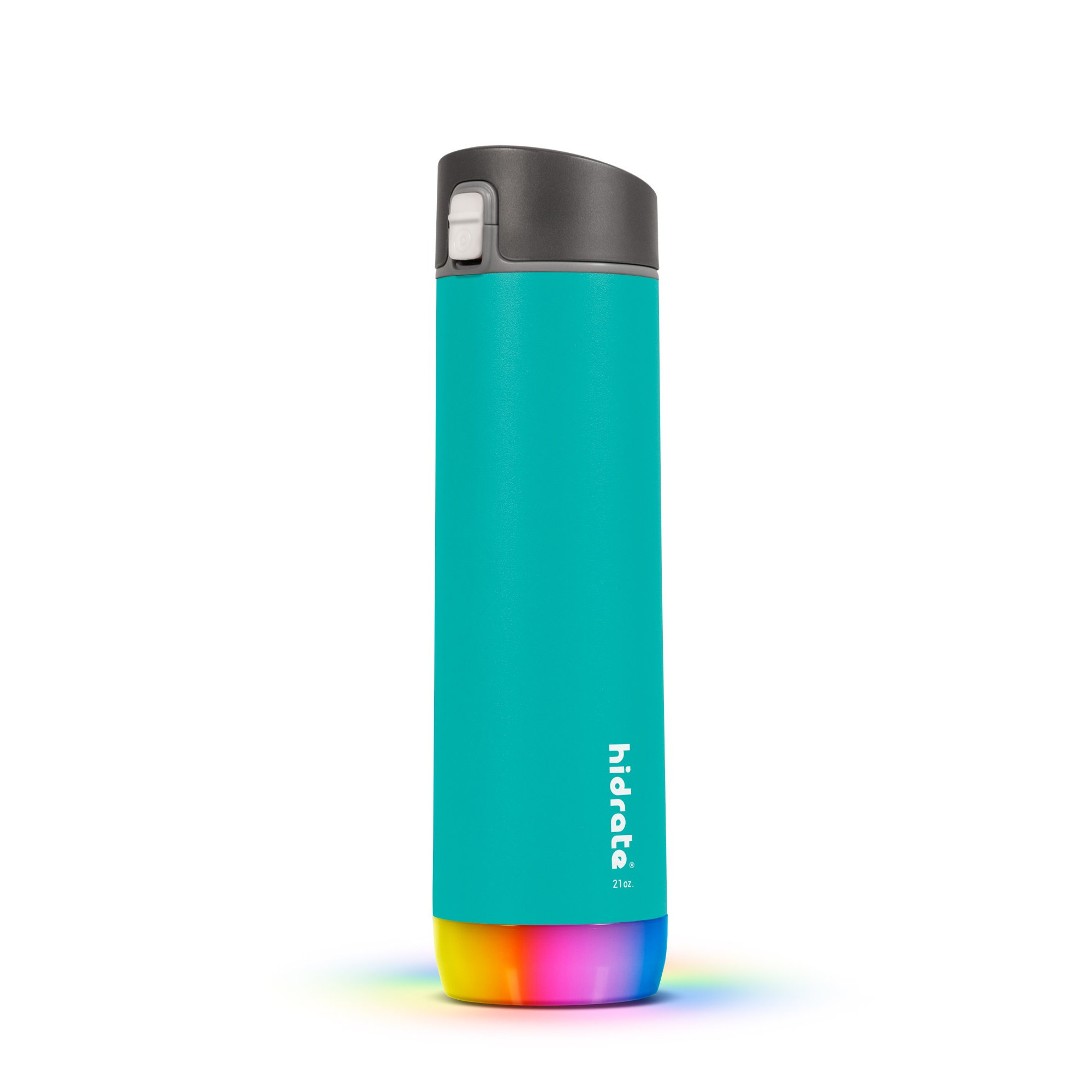 HidrateSpark Steel 21 oz. - Smarte Wasserflasche aus gebürstetem Edelstahl